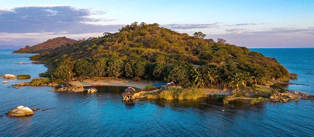 BLUE ZEBRA ISLAND LODGE, LAKE MALAWI